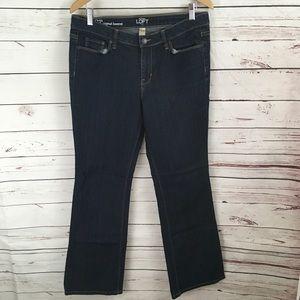 LOFT Original Bootcut Stretch Jeans